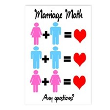 Marriage Math Postcards (Package of 8)