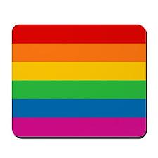 Gay Pride Rainbow Flag Mousepad