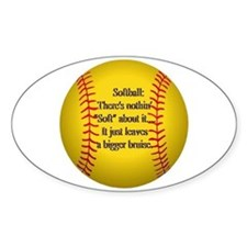 """Girls Fastpitch Softball"" Decal"
