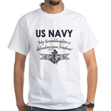 NAVY Granddaughter Defending Shirt