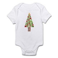 Diversity Christmas Tree Infant Bodysuit