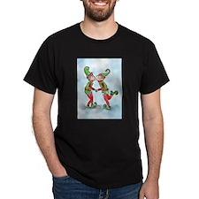 Elves Kissing T-Shirt
