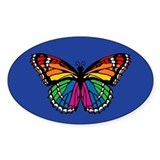 Rainbow Butterfly Decal