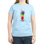 Rainbow Stripe Milkshake Women's Light T-Shirt