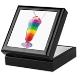 Rainbow Stripe Milkshake Keepsake Box