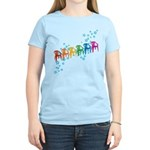 Rainbow Patio Chairs Women's Light T-Shirt