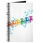 Rainbow Patio Chairs Journal