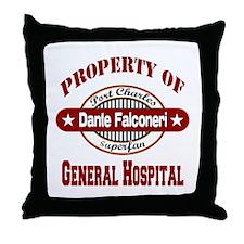 Property of Dante Falconeri Throw Pillow