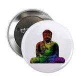 Rainbow Buddha Button