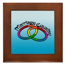 Marriage Equality Framed Tile