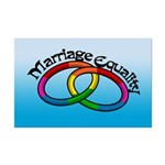 Marriage Equality Mini Poster Print