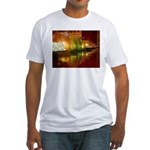 Singapore Temple Offering Lam Fitted T-Shirt
