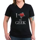Cute I love geeks Shirt