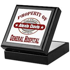 Property of Alexis Davis Keepsake Box