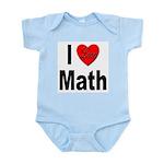 I Love Math Infant Creeper