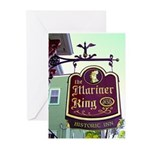 The Mariner King Inn sign Greeting Cards (Pk of 20
