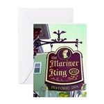 The Mariner King Inn sign Greeting Card