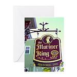 The Mariner King Inn sign Greeting Card