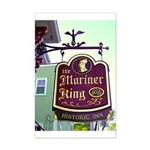 The Mariner King Inn sign Mini Poster Print
