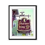 The Mariner King Inn sign Framed Panel Print