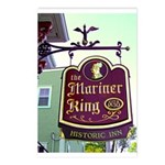 The Mariner King Inn sign Postcards (Package of 8)