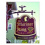 The Mariner King Inn sign Small Poster