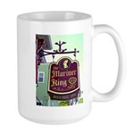 The Mariner King Inn sign Large Mug