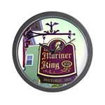 The Mariner King Inn sign Wall Clock