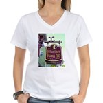 The Mariner King Inn sign Women's V-Neck T-Shirt