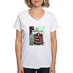 The Mariner King Inn sign Women's V-Neck T-Shirt