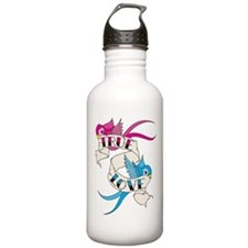 True Love Birds Water Bottle