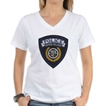 Patton Village Texas Police Women's V-Neck T-Shirt