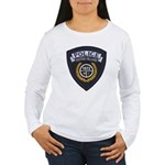 Patton Village Texas Police Women's Long Sleeve T-