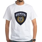 Patton Village Texas Police White T-Shirt