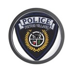 Patton Village Texas Police Wall Clock