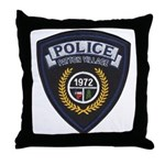 Patton Village Texas Police Throw Pillow