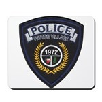 Patton Village Texas Police Mousepad