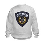Patton Village Texas Police Kids Sweatshirt