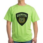 Patton Village Texas Police Green T-Shirt