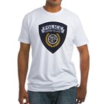 Patton Village Texas Police Fitted T-Shirt