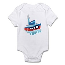 Tug Life Tugboat Infant Bodysuit