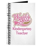 Worlds Best Kindergarten Teacher Journal