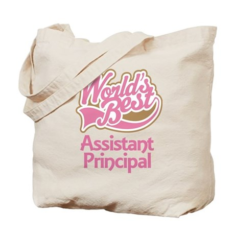 Worlds Best Assistant Principal Tote Bag
