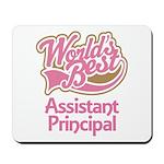 Worlds Best Assistant Principal Mousepad