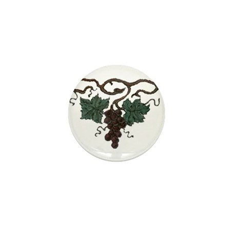 Grapes Mini Button