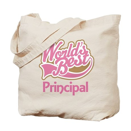 Worlds Best Principal Tote Bag