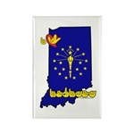 ILY Indiana Rectangle Magnet (100 pack)