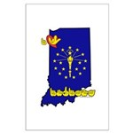 ILY Indiana Large Poster