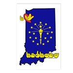 ILY Indiana Postcards (Package of 8)
