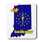 ILY Indiana Mousepad